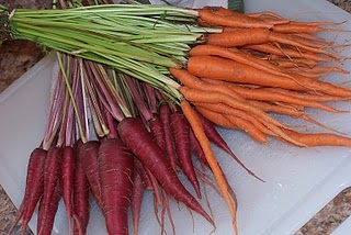 Local Carrots from the Ozarks
